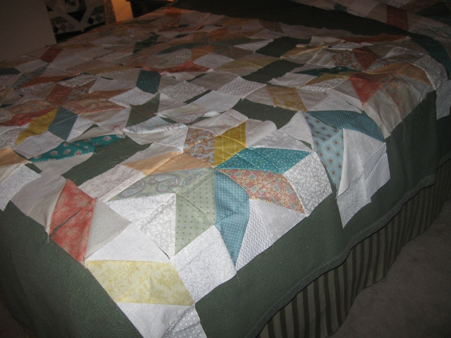 Fresh quilt blocks in progress