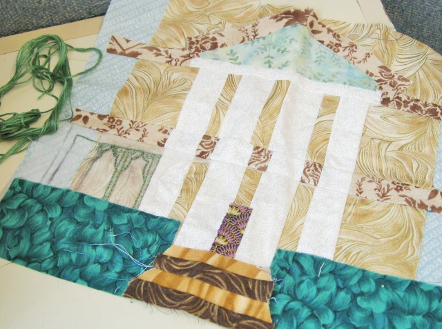 mansion quilt block
