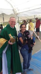 Penny at Blessing of the Animals